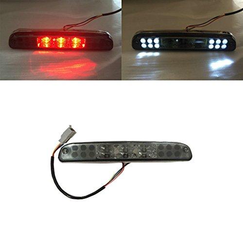 VioletLisa 1pc Smoke Lens LED 3rd Brake Light for Ford 99-16 F250/F350/F450/F550 Super Duty Pickup / 93-11 Ranger / 01-05 Explorer Sport Trac & Mazda 93-10 B2300/B3000/B40000 Truck With OE Carco Lamp