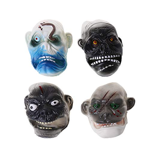 EA-STONE Novelty Toys,Stress Reliever Toys ,4Pcs Halloween Mini