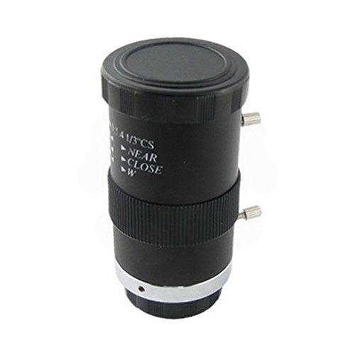 6-15mm 1/3 F1.4 CS Mount Varifocal CCTV Manual Lens by Uptell ()