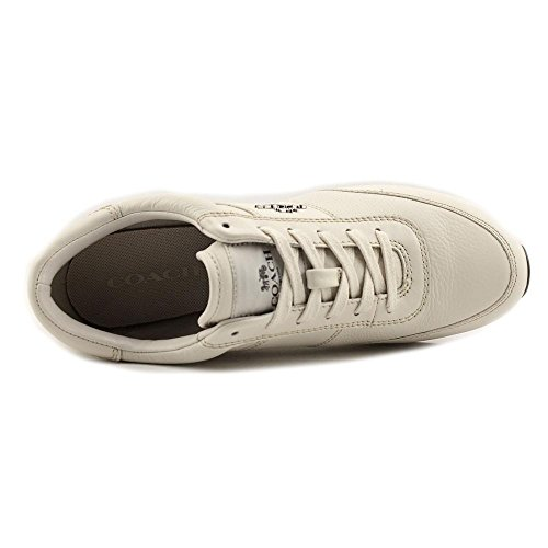 Coach Raylen Womens Chalk Leather Lace Up Fashion Sneakers Chalk/Chalk 1 buy cheap cost where can you find outlet really shop for sale online for nice cheap online yN5syDyF