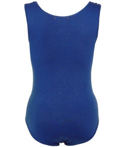 Blu Donna Senza KRISP Body Basic maniche wXXBqC
