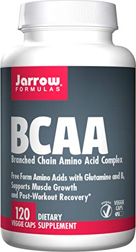 Jarrow Formulas BCAA, Promotes Sports Nutrition, 120 Caps