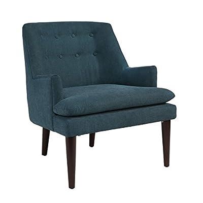 Abbyson Living Murphy Mid Century Accent Chair in Teal -  - living-room-furniture, living-room, accent-chairs - 41iBDj XkaL. SS400  -