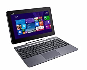 "ASUS Transformer Book T100TAF-B1-MS - 10.1"" Touchscreen 2-in-1 Laptop/Tablet Combo - Windows 8.1 / Intel Atom / 2GB RAM / 32GB eMMC / Intel HD Graphics / WiFi / Webcam by Asus"