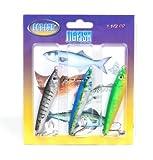 #8: Gotcha JF15-3PK Jigfish 1-1/2oz 3Pk