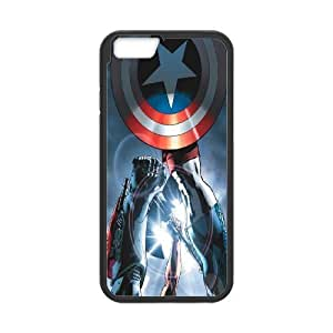Steve-Brady Phone case Super Hero Caption American For Apple Iphone 6 Plus 5.5 inch screen Cases Pattern-5 by mcsharks
