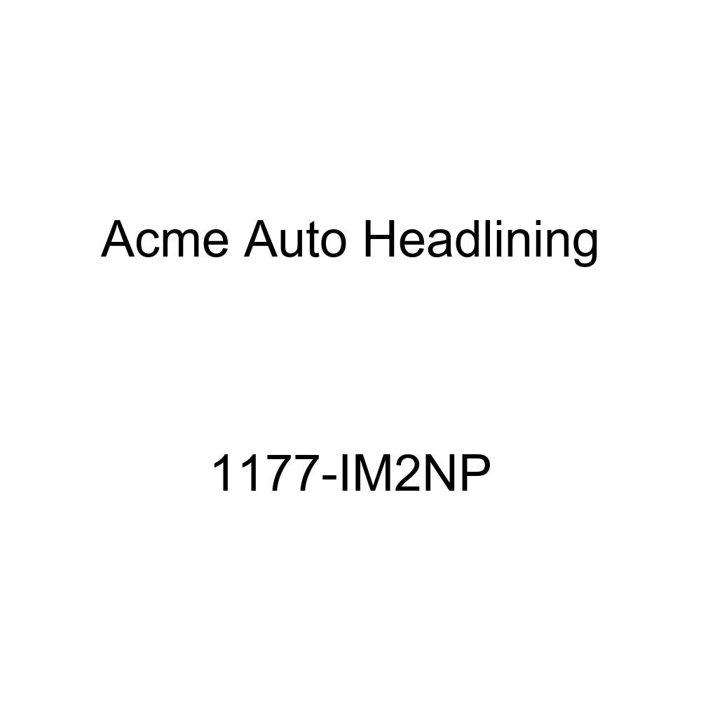 1957 Buick Roadmaster 2 Door Riviera Hardtop 7 Bows, 3 Chrome Acme Auto Headlining 1177-IM2NP Off White Replacement Headliner