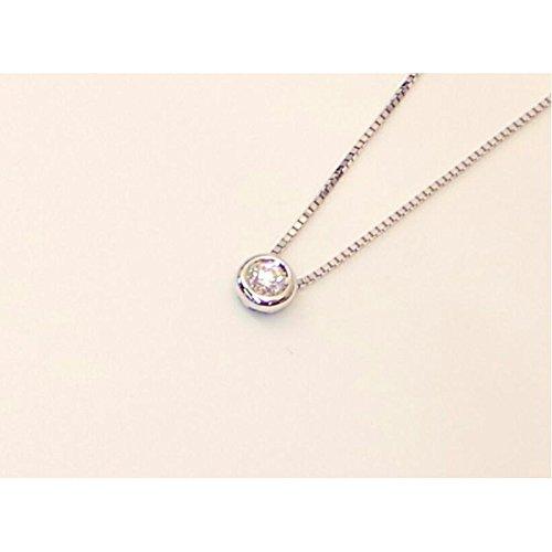 Collier Salvini Femme n63204r or blanc diamant
