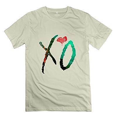 HX-Kingdom Men's Fashion Tshirt - The Weeknd X'O Natural