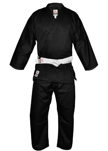 Fuji Karate Uniform、ブラック B00GII1EWG  6