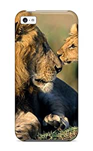 AnnaSanders Perfect Tpu Case For Iphone 5c/ Anti-scratch Protector Case (lion)