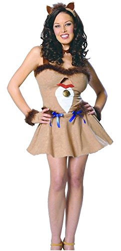 [Cowardly Lioness Costume - X-Small - Dress Size 2-4] (Woman Lioness Costume)
