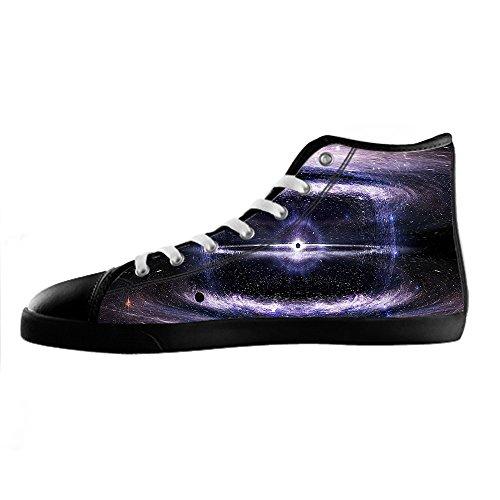 Custom Universo piatto Mens Canvas shoes I lacci delle scarpe in Alto sopra le scarpe da ginnastica di scarpe scarpe di Tela. Ver Descuento utHG9