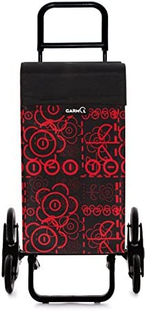 Garmol G3X3 Love C591 Carro de Compra Sube escaleras 3x3, Tela, Rojo, 53x16x96 cm: Amazon.es: Hogar