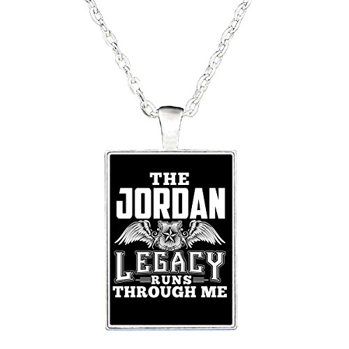 The Jordan Legacy Runs Through Me - Necklace by Brands Banned