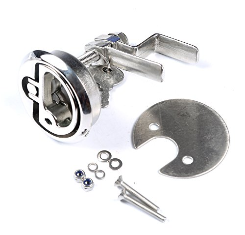 - Mxeol Marine Cam Latch Stainless Steel Boat Hatch Lift Handle with Fasteners