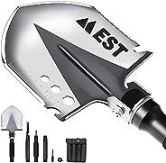 EST Gear Survival Shovel | The Ultimate Survival Tool | Military Gear Folding Shovel | Compact Tactical Entren
