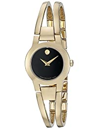 Movado Women's 0606946 Analog Display Swiss Quartz Gold Watch