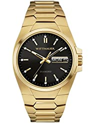 Wittnauer - WN3059 Gold Tone Stainless Steel Black Dial