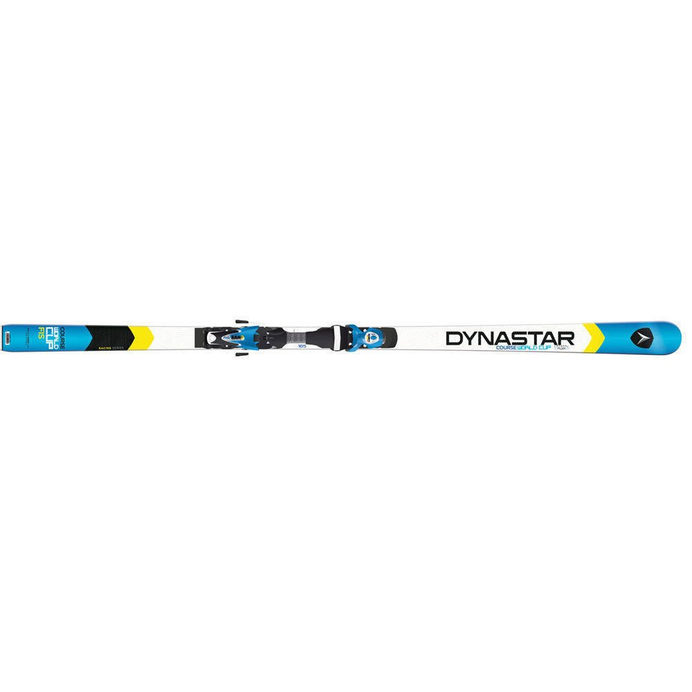 2015 Dynastar Speed Course WC Factory GS 195cm Skis w race plates