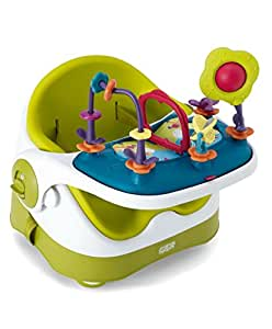 Mamas & Papas Baby Bud Booster Seat & Activity Tray (Lime)