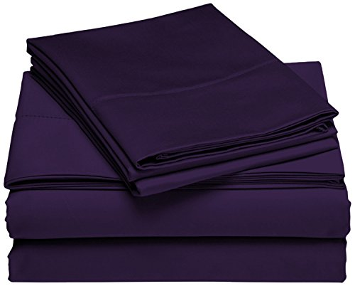 Brielle 100 Percent Rayon Bamboo Purple