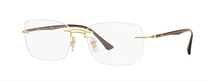 4ee097c3463c44 Image Unavailable. Image not available for. Color  Eyeglasses Ray-Ban  Optical RX 8750 1194 GOLD