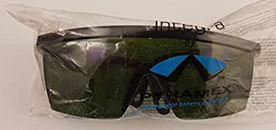 Plastic #3 Shade Safety Glasses for glass work in kiln