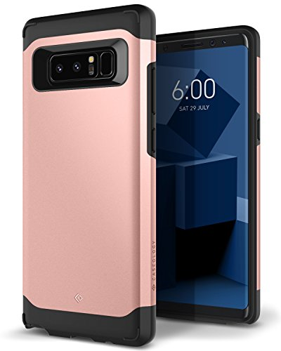 Galaxy Note 8 Case, Caseology [Legion Series] Slim Heavy Duty Protection Dual Layer Armor Samsung Galaxy Note 8 (2017) - Rose Gold by Caseology
