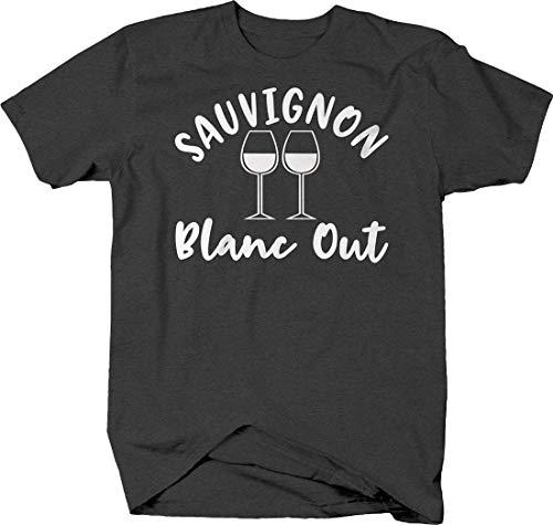 LIFESTYLE SHIRTS & GRAPHIX Sauvignon Blanc Out Funny Wine Glasses Drinking...