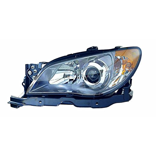 - CarLights360: Fits 2006 SUBARU IMPREZA Head Light Assembly Driver Side w/Bulbs - (CAPA Certified) Replacement for SU2502131