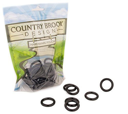 10 - Country Brook Design | 3/4 Inch Black Powder Coated Wel