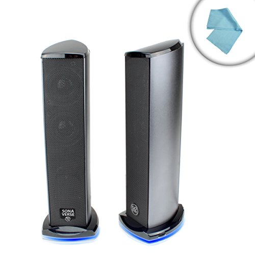 GOgroove TI USB Computer Speakers with Enhanced Dual Driv...