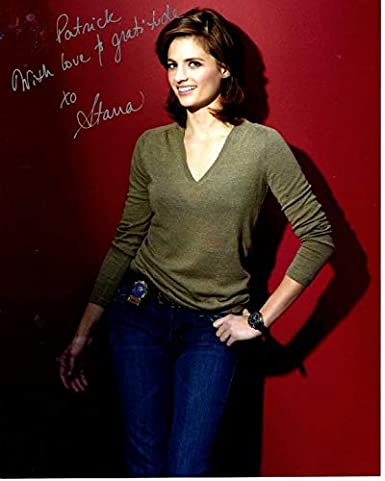 STANA KATIC Autographed Signed CASTLE KATE BECKETT
