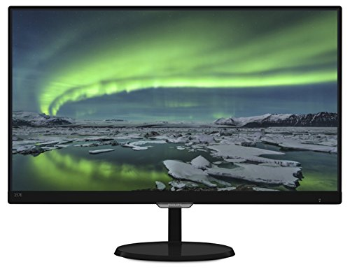 Philips 257E7QDSB 25-Inch IPS LED-Lit LCD Monitor, Full HD Res, 250cd/m2, 5ms, 20M:1 DCR, VGA,DVI,HDMI-MHL (Narrow Bezel Ultra)