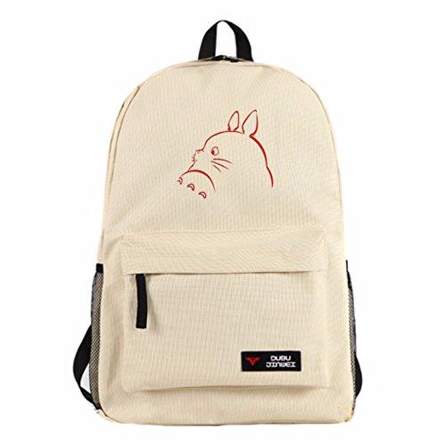 rare Schultertasche Tasche Shoulder Bag Rucksack reisetaschen Rot Zeichnung Totoro new