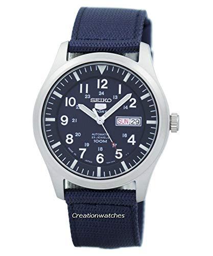 Seiko Men's SNZG11J1 5 Sports Blue Watch ()