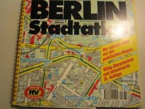 RV Berlin Euro  Großraumstadtatlas 1   20 000.   Stadtplan . Mit Umland Und Potsdam.   Euro City .