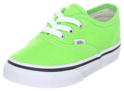 a43b5ec35770 Vans Unisex - Children Authentic Jasmine Green True White Trainers Voko5Ss Jasmine  Green True
