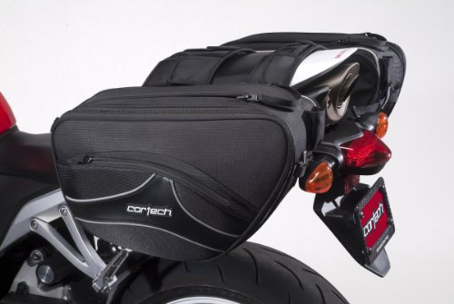 Cortech 8230-0305-36 Black Super 2.0 Saddlebag by Cortech (Image #1)'