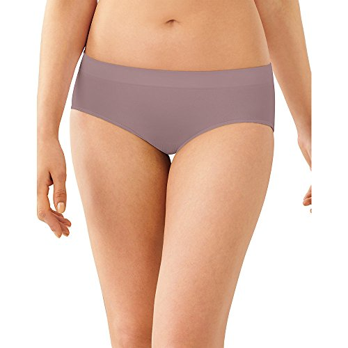 Bali Women's Passion for Comfort Stretch Hipster Panty (2287Hm), Warm Steel, 7 by Bali