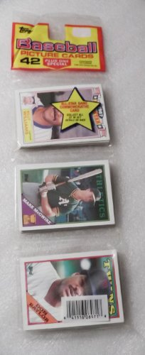 Topps Baseball Cards Picture trading cards. 42 Cards Plus 1 Special Sealed 1988