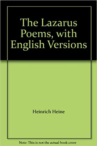 The Lazarus Poems, with English Versions