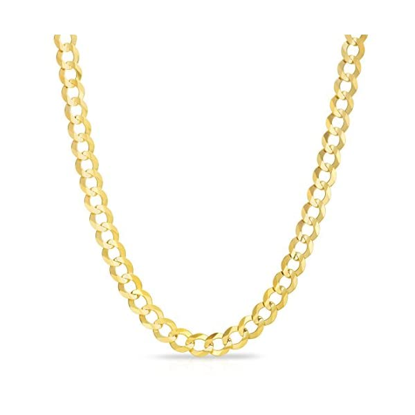 10k-Yellow-Gold-Mens-Thick-Solid-Curb-Cuban-Link-Chain-Necklace-03-Inch-85mm