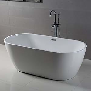 Ferdy Freestanding Bathtub Soaking Bath Tub Stand Alone