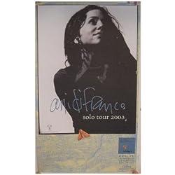 Ani Difranco Poster Di Franco Tour 2003
