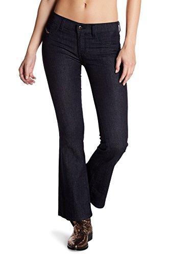 Diesel Livier Flare Jeans 0RZ74 (Blue/Denim, 28W x (Diesel Flare Jeans)