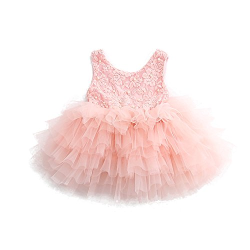 Girls Beading Ruffles Princess Dresses
