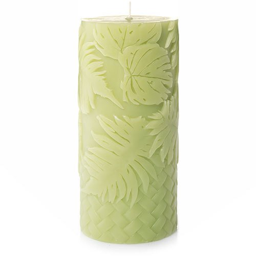 Yankee Candle Margaritaville Lime & Sea Salt Medium Perfect Pillar (Lime Green Pillar Candle)