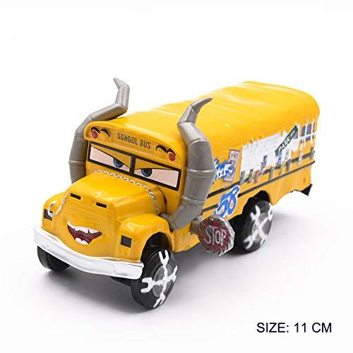 Generic 1 55 Disney Pixar Cars 3 Diecast Metal Role Car Toys Jackson Storm Challenge Lightning McQueen Model Boy Toy Birthday Gift 1